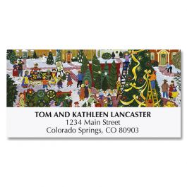 Christmas Festival Deluxe Address Labels