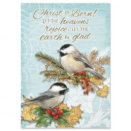 Holiday Birds Christmas Cards