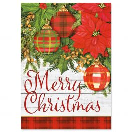 Plaid Christmas Cards