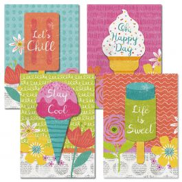 Let's Chill Birthday Cards
