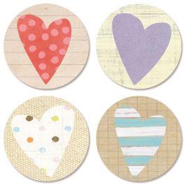 Sending Love Seals (4 Designs)