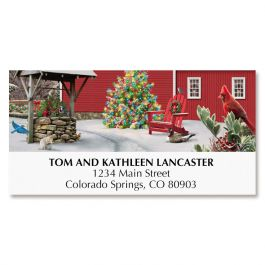 Heavenly Light Deluxe Address Labels