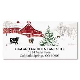 Farmland Deluxe Address Labels