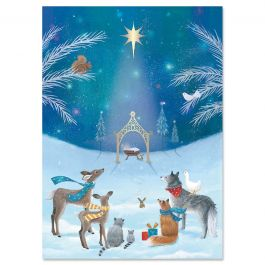God's Gift Christmas Cards - Personalized