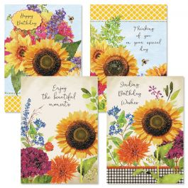 Sunflower Birthday Cards