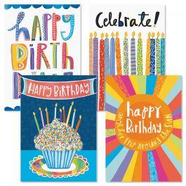 Brights Birthday Cards