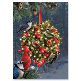 Holiday Hangout Christmas Cards - Personalized