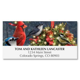 Holiday Hangout Deluxe Address Labels