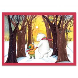 Hand in Hand Christmas Cards - Personalized