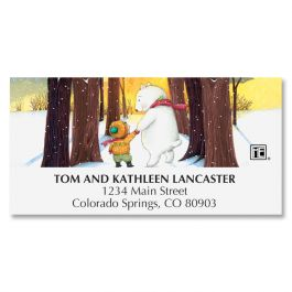 Hand in Hand Deluxe Address Labels