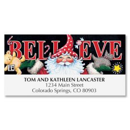 Mary's Believe Deluxe Address Labels