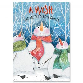 Winter Pals Christmas Cards - Nonpersonalized