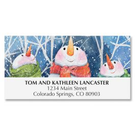 Winter Pals Deluxe Address Labels