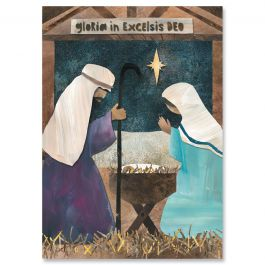 Christmas Nativity Christmas Cards - Personalized