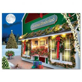 Christmas Wonderland Christmas Cards - Personalized