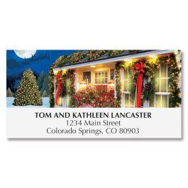 Christmas Wonderland Deluxe Address Labels