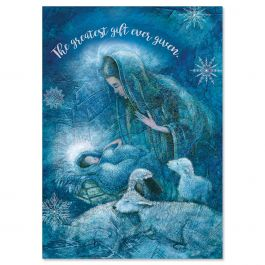 Madonna Christmas Cards - Personalized