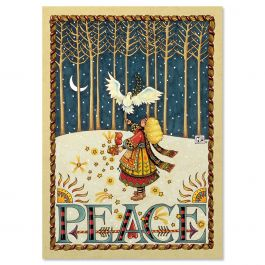 Peace Dove Christmas Cards - Nonpersonalized
