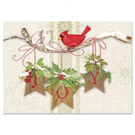 Winter Garden Christmas Cards - Personalized