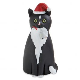 Christmas Cat with Mouse