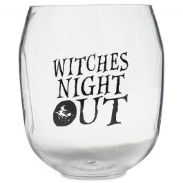 Night Out Unbreakable Halloween Wine Glass