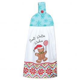Gingerbread Tie Towel