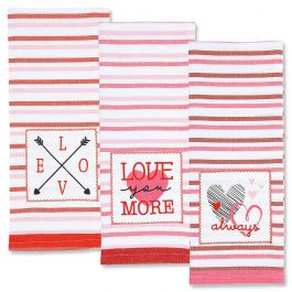 Valentine Kitchen Towels - Set of 3