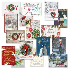 Expressions of Faith® Christmas Card Value Pack - Set of 64