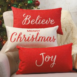 Holiday Decorative Pillows - Set of all 3