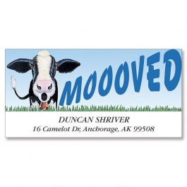 Moooved Deluxe Address Labels Current Catalog