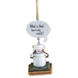 What's that burning smell? S'more Ornament