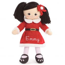 Asian Rag Doll in Santa Dress