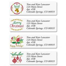 Salutations Classic Address Labels Current Catalog