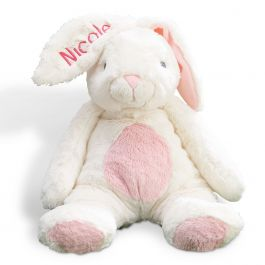 Pink Personalized Ultra-Plush My First Easter Bunny