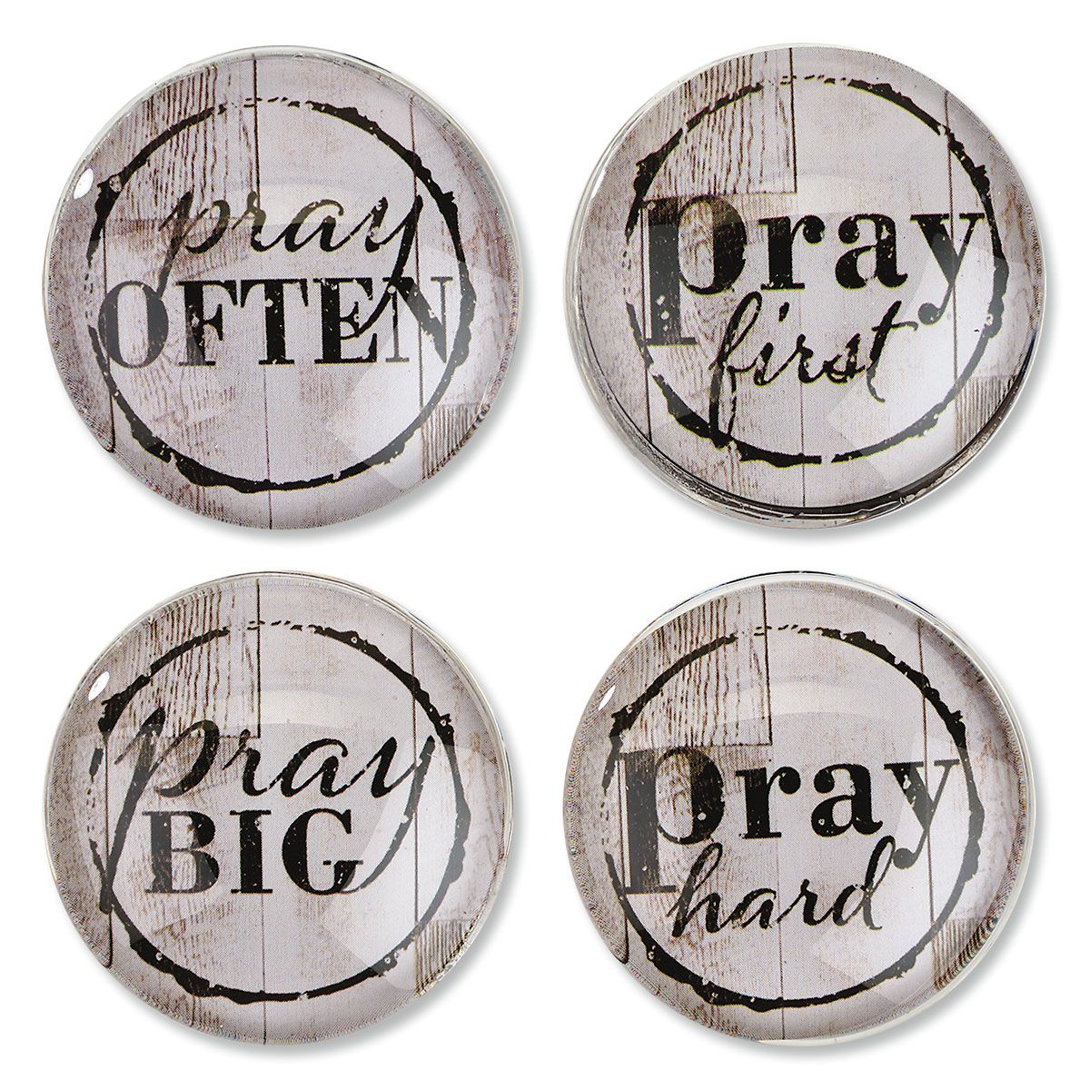 Pray-Themed Magnets