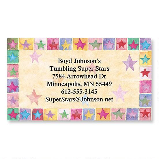 Stars On Parade Calling Card