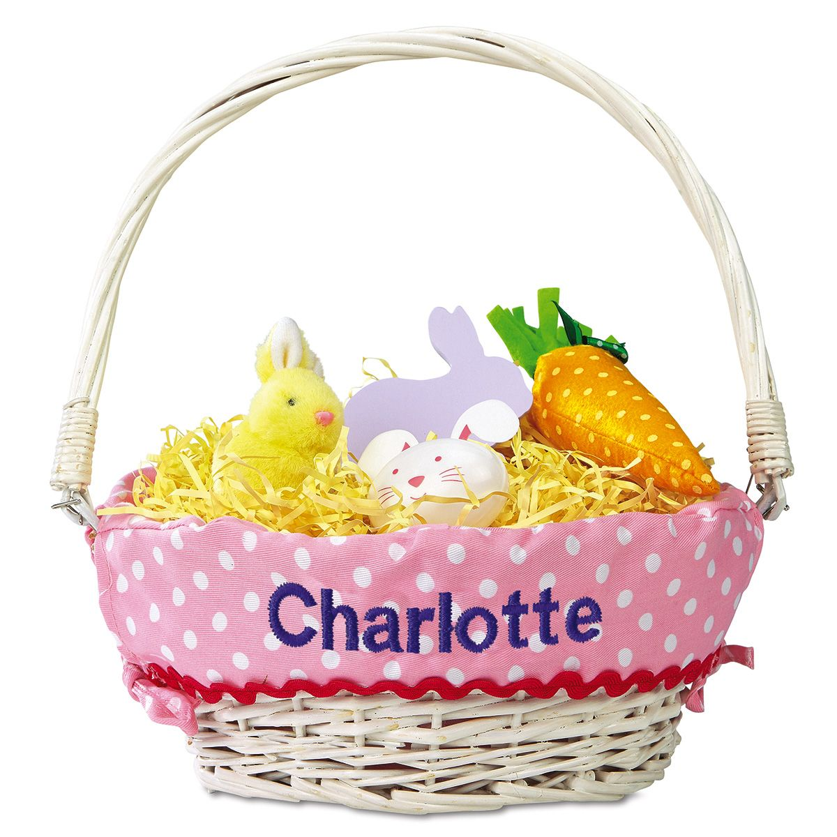 Kids Personalized Easter Basket with Liners