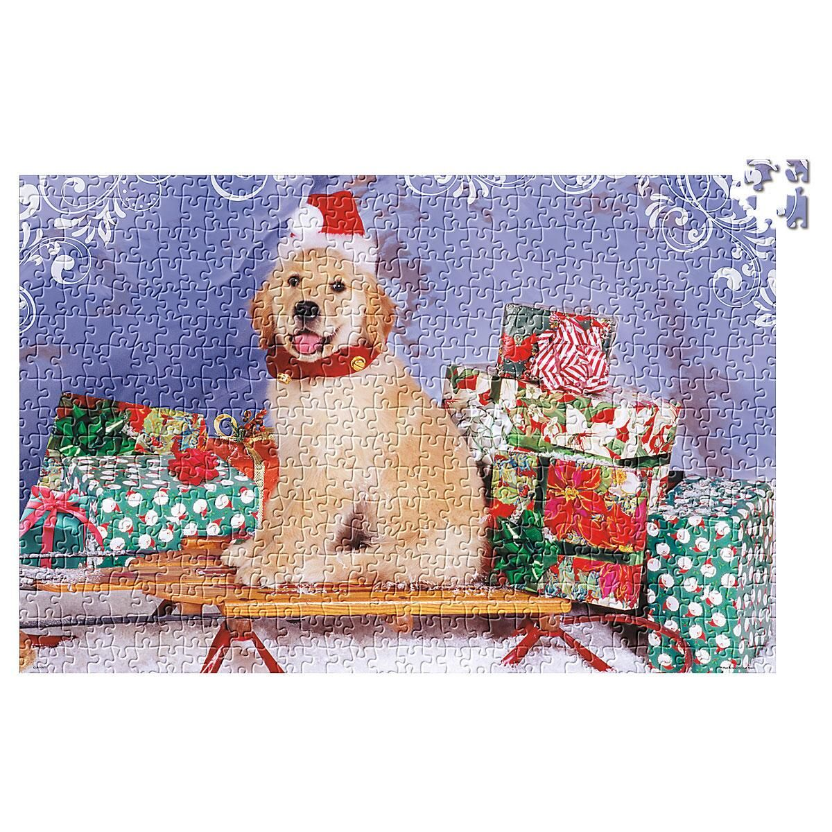 Santa's Helper Dog Puzzle