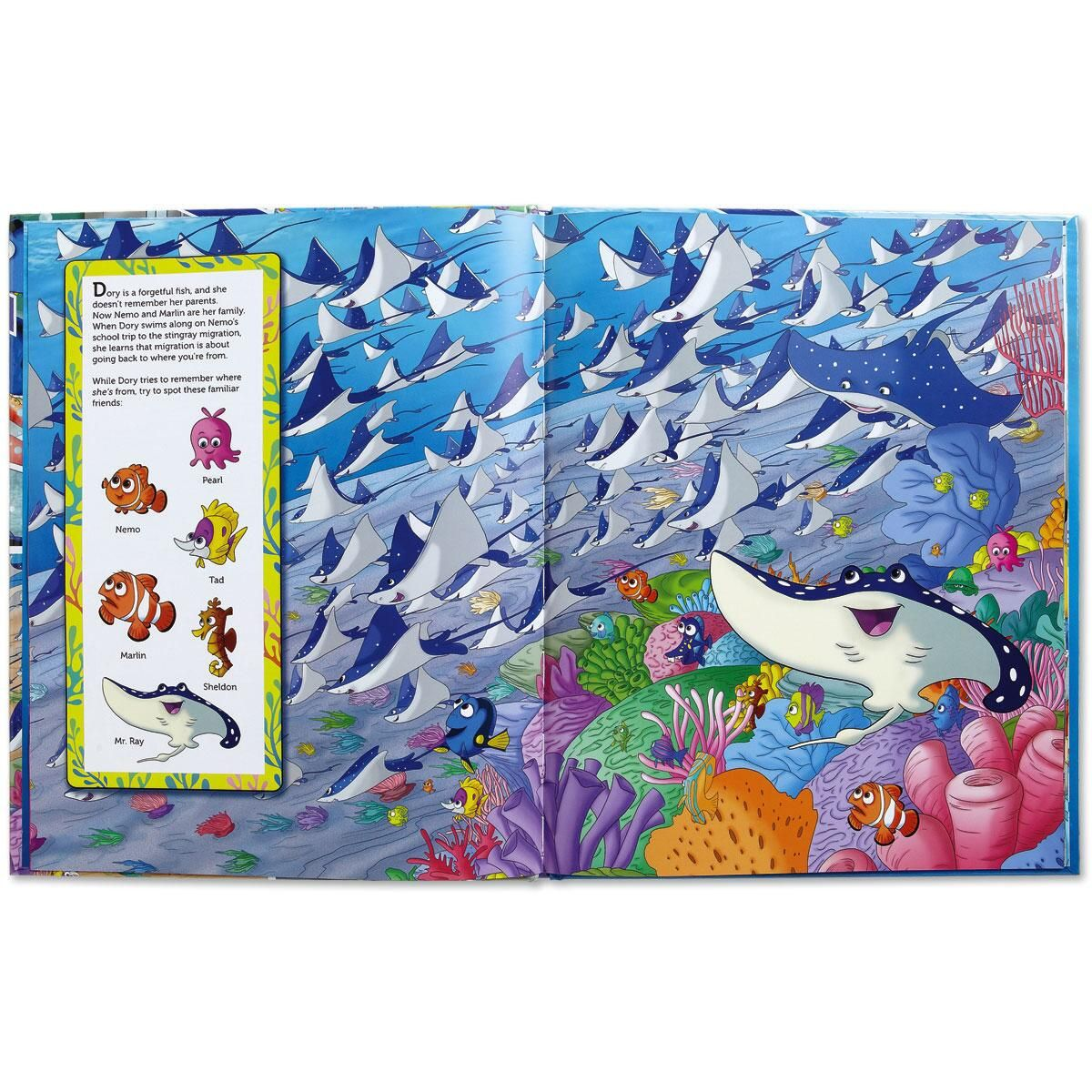 Finding Dory Look-and-Find® Book