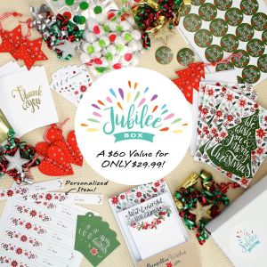 Jubilee Box - Stationery, Wrap & Gifts Subscription Box