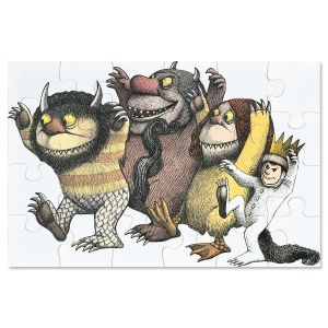 Where The Wild Things Are Floor Puzzle