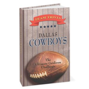 Dallas Cowboys NFL Team Trivia Book