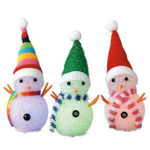 Color Changing Snowmen