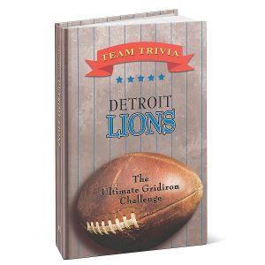 Detroit Lions NFL Team Trivia Book