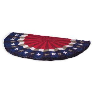 Stars & Stripes Half-Round Coco Doormat