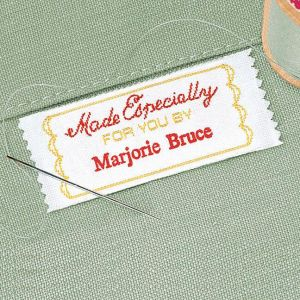 Made Specially Sewing Label