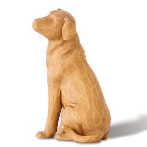 "Willow Tree® ""Love My Dog"" Figurine - Light"