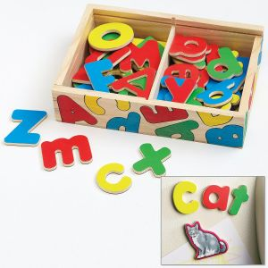 Magnetic Wooden Alphabet by Melissa & Doug®
