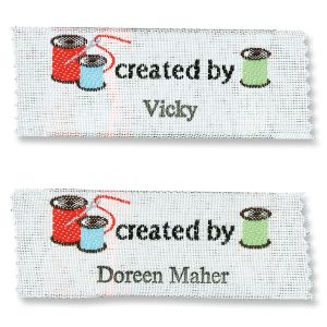 Created By Sewing Labels