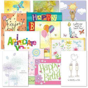 Mega All Occasion Greeting Cards Value Pack
